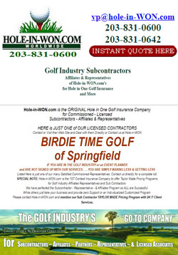 BIRDIE TIME GOLF Hole in One Insurance