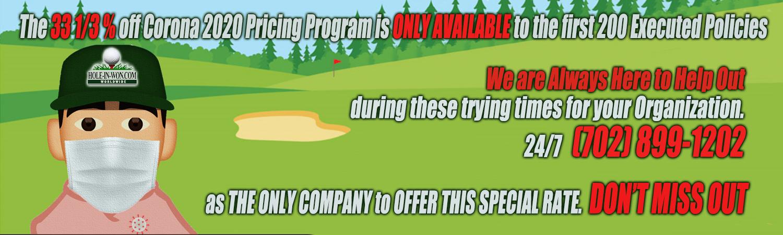 Corona Golf Insurance 2020