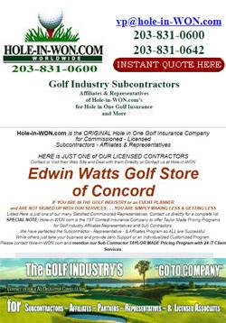 Edwin Watts Golf Store Hole in One Insurance
