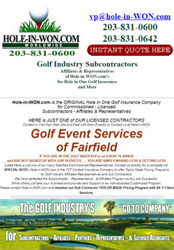 Golf Event Service Hole in One Insurance