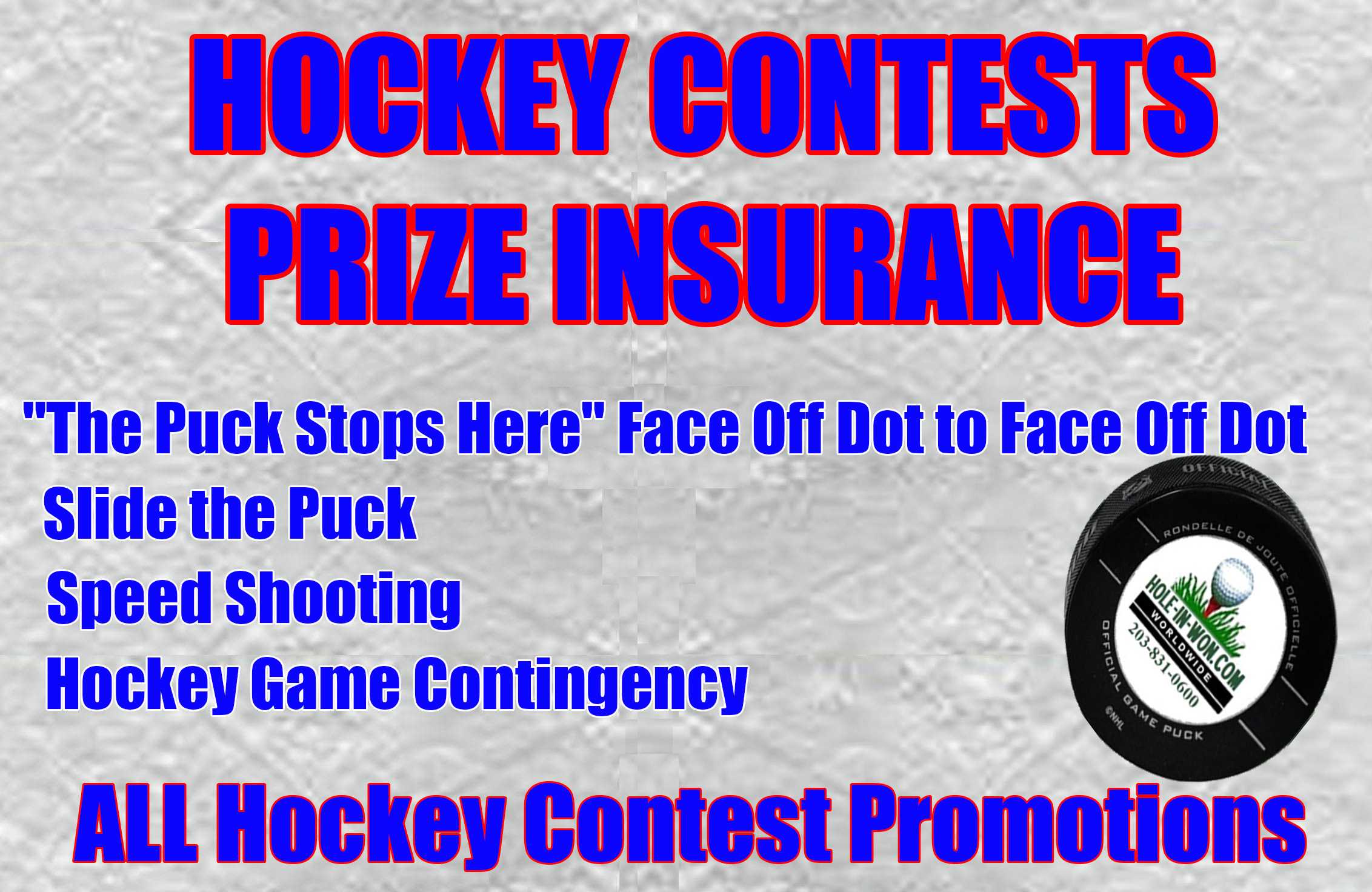 Halftime Hockey Contest