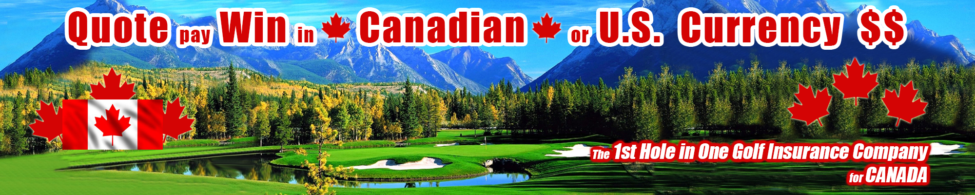 Canada Hole in One Insurance