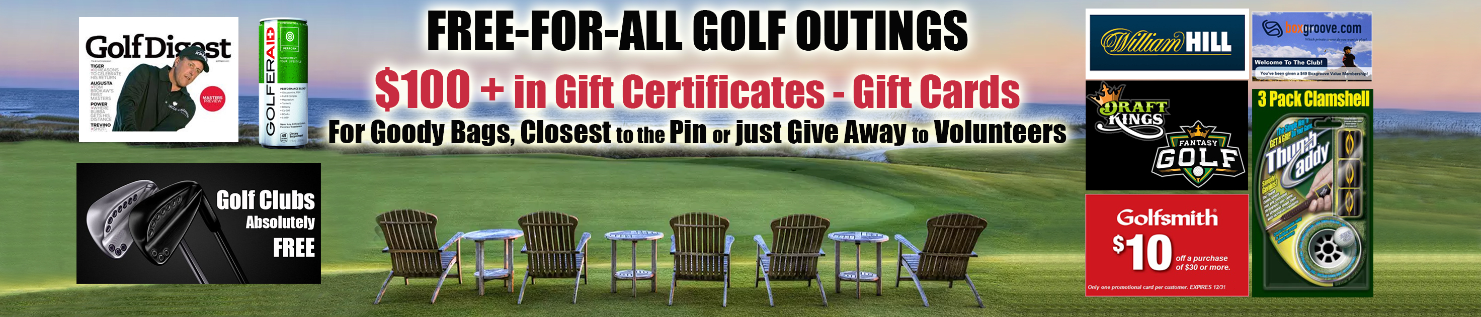 Free Golf Gifts