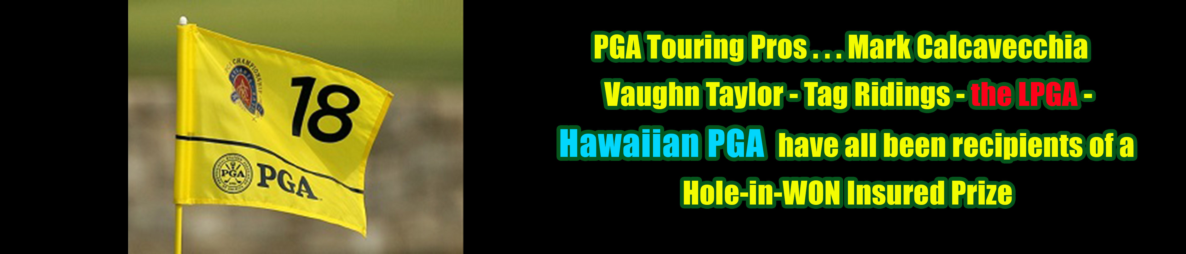 PGA Golf Hole in One Insurance