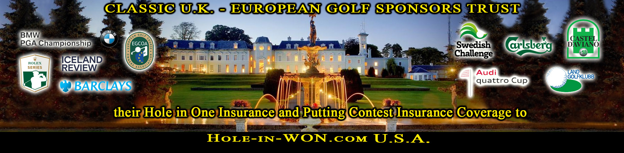 UK Hole in One Insurance