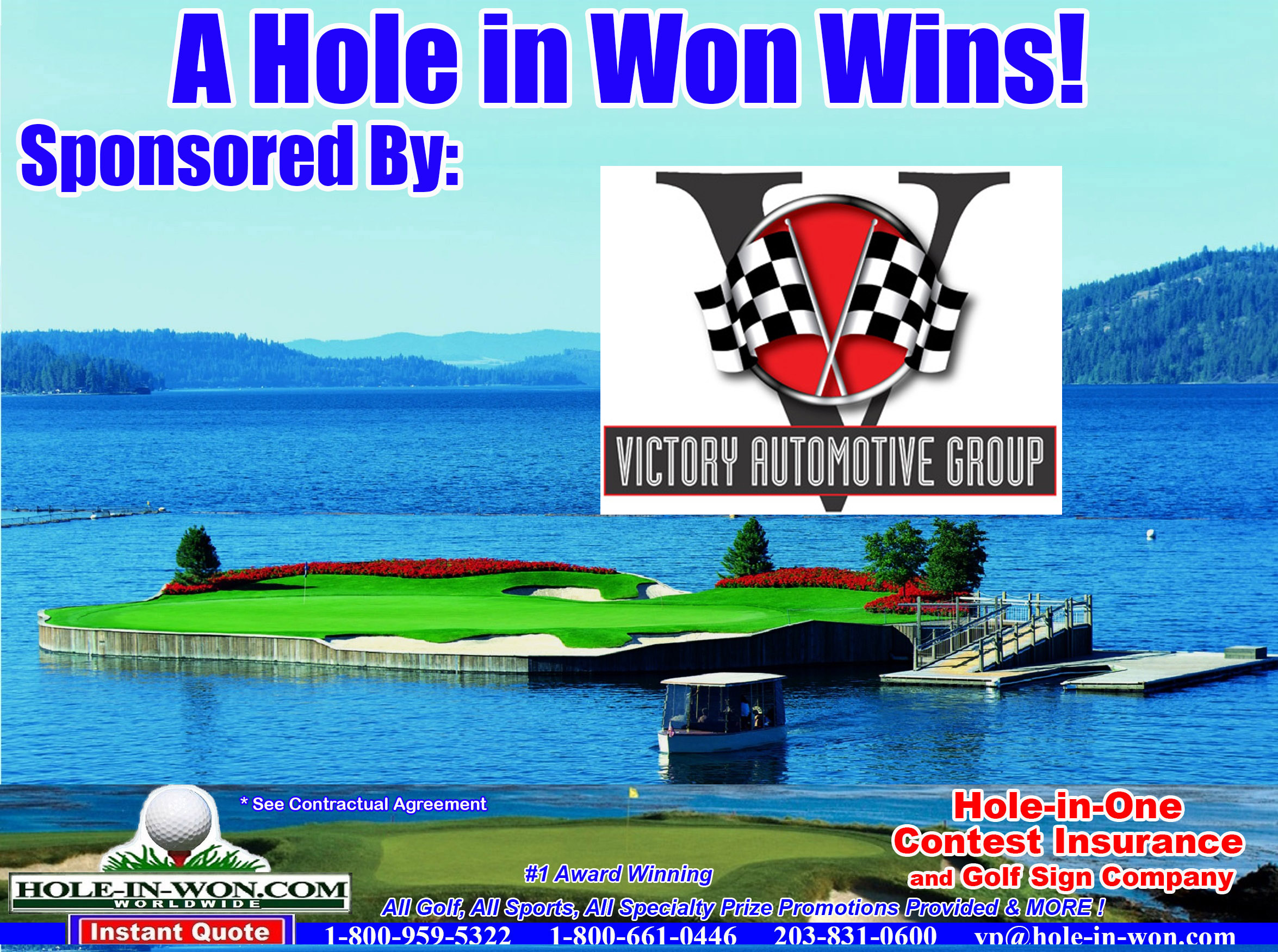 Victory Automotive Group >> Victory Automotive Hole In One Program