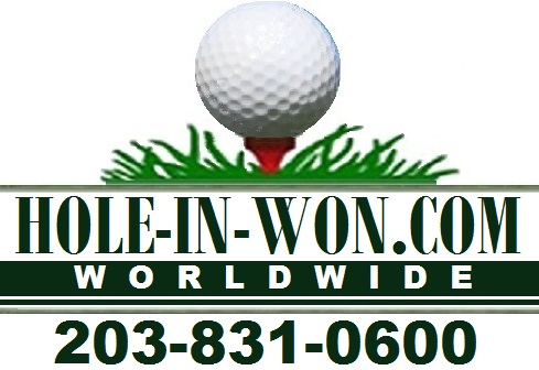 Golf signs hole in one insurance