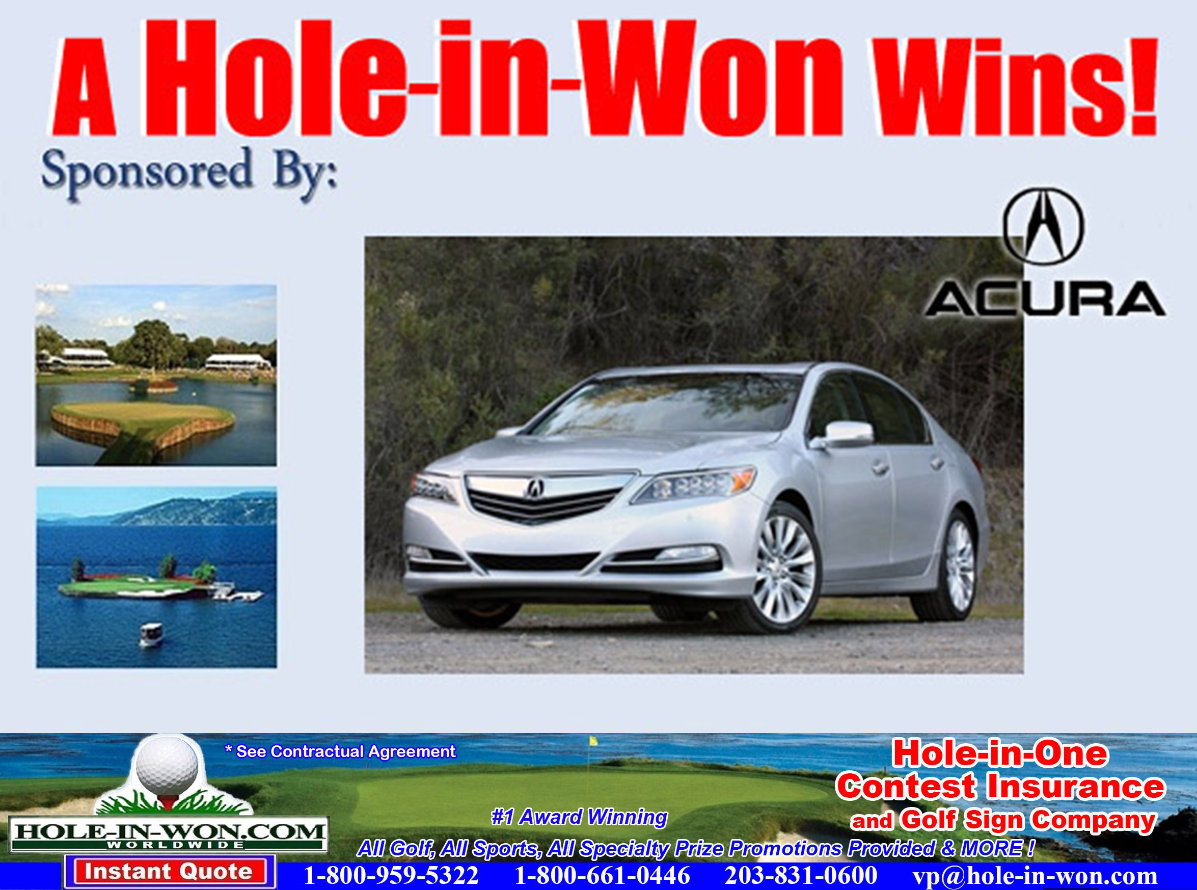 Acura Hole In One Images - Acura insurance