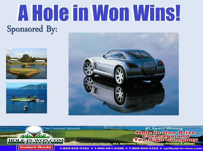 Chrysler Golf Hole In One Insurance CHRYSLER PAP Sports Contests - Chrysler pap