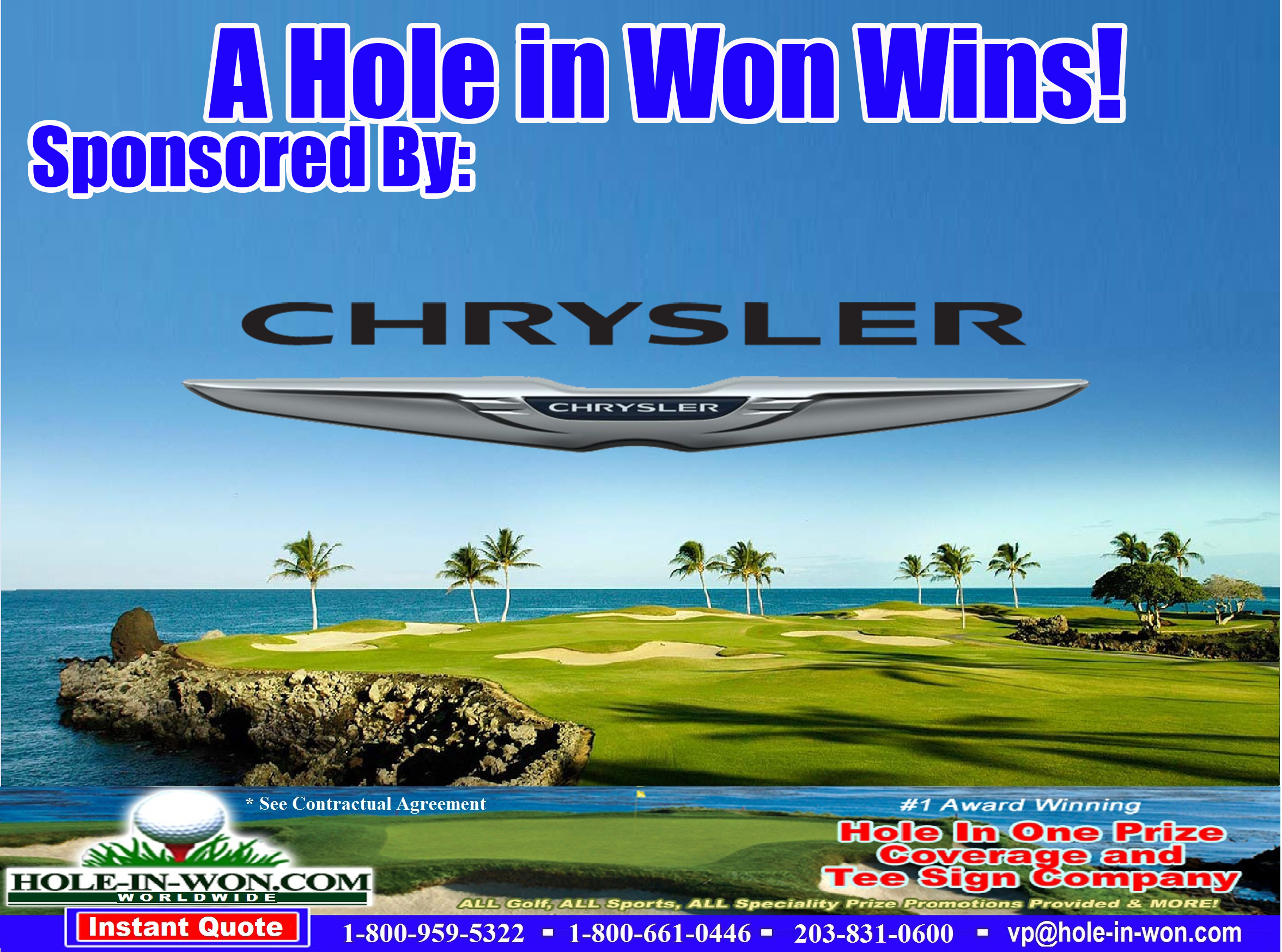 CHRYSLER Hole In One Images - Chrysler pap