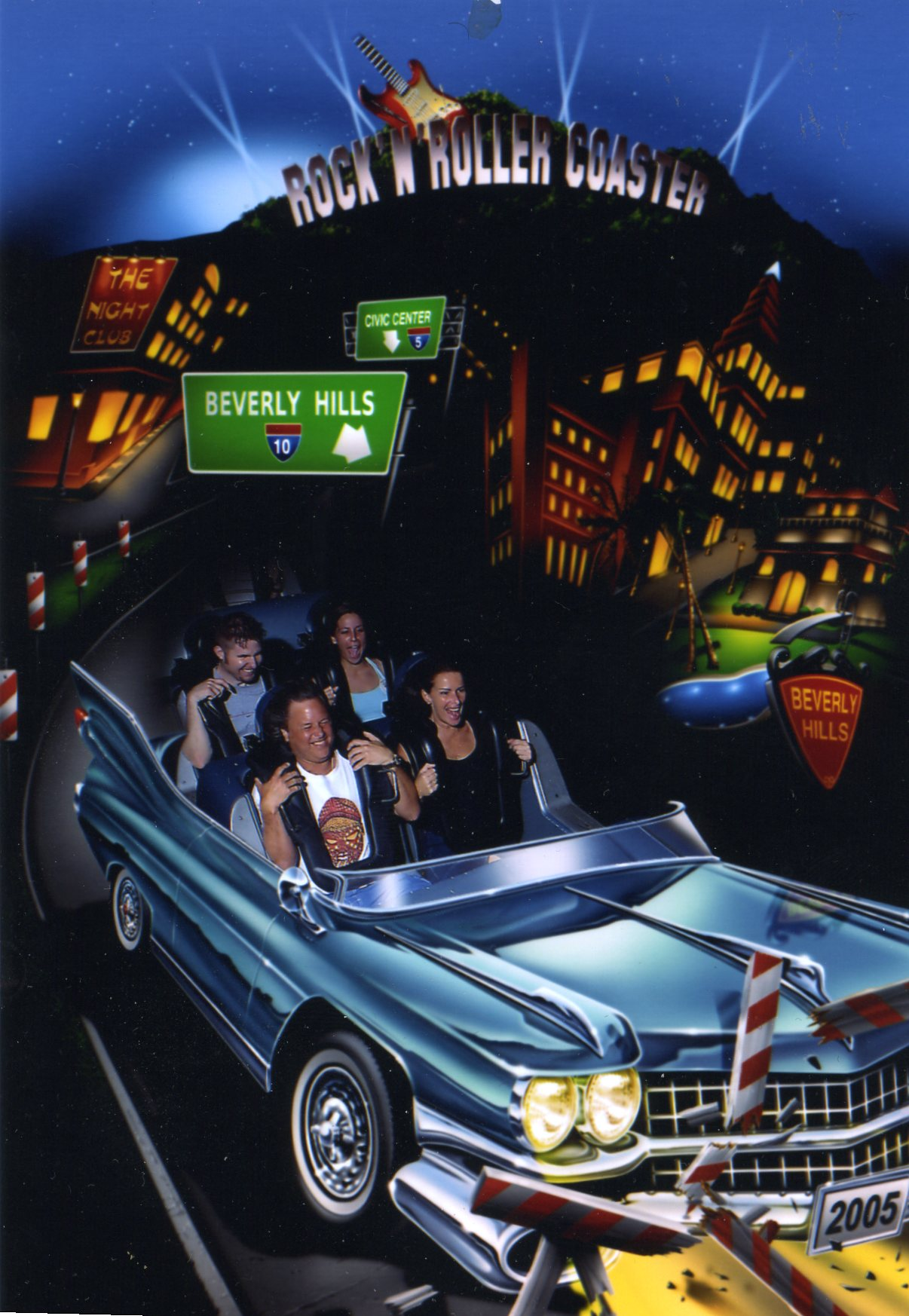 Kevin Kolenda Aerosmith Roller Coaster Image