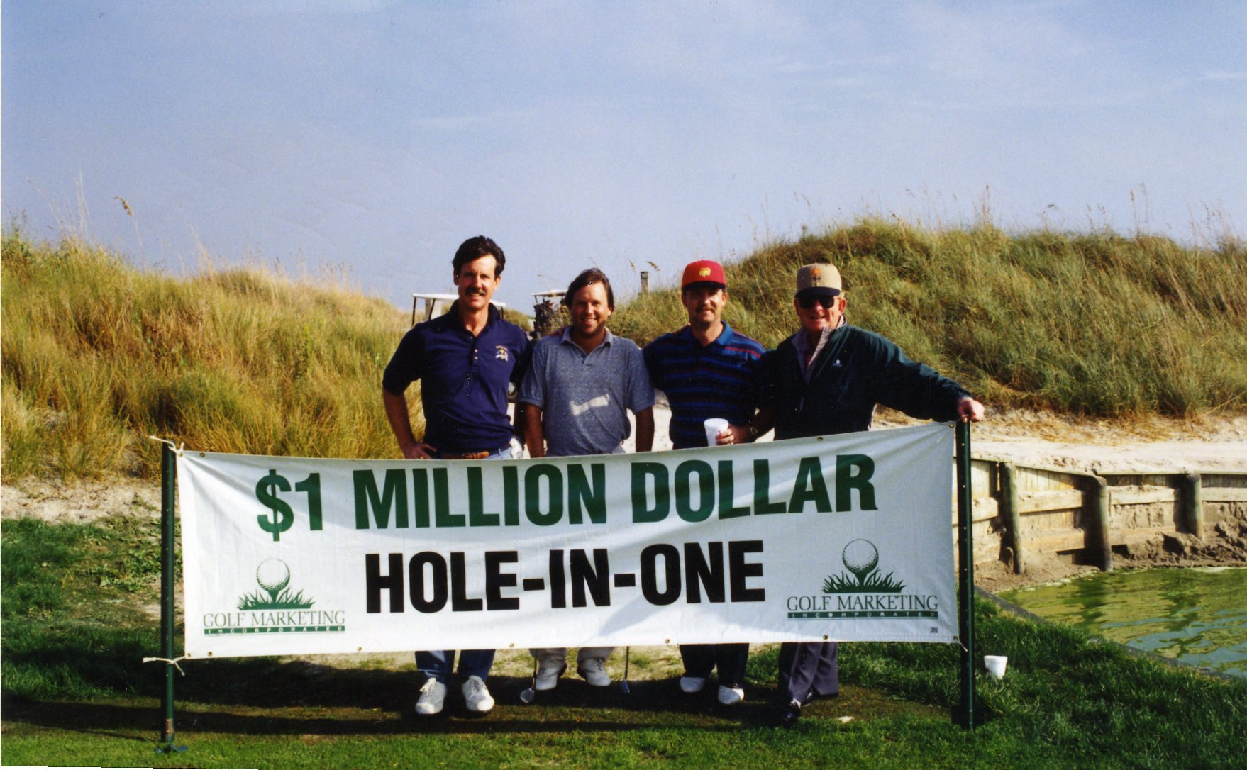 Kevin Kolenda Kiawah Island Million Dollar Hole in One
