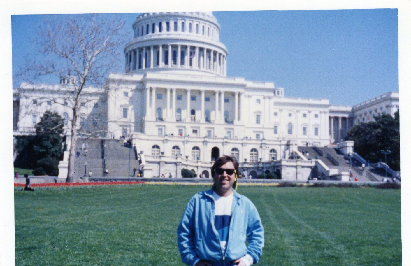 Kevin Kolenda on the White House Lawn