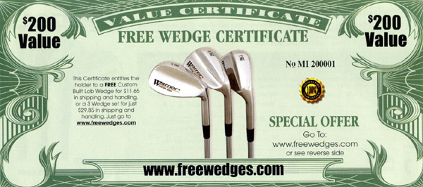 FREE Wedge 20000 Value